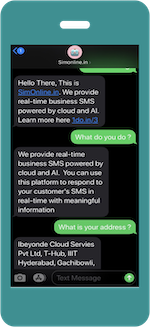 instant web app as chatbot